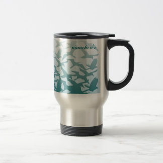 Customizable: Birds Travel Mug