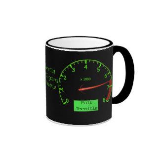 Customizable Birthday Gear Petrol Head Ringer Coffee Mug