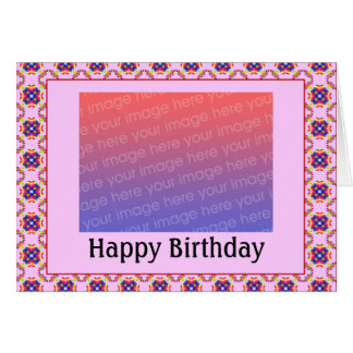 Customizable Birthday Photo - Cust... - Customized Card