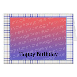 Customizable Birthday Photo - Customized Card