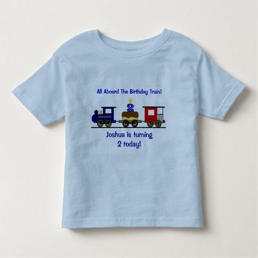 Customizable birthday train shirt zazzle for Zazzle custom t shirts
