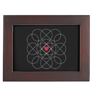 Customizable Black and White Infiniti Love Memory Boxes
