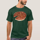 Customizable Black / Dark Pizza T-shirt (Front)