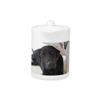 Customizable Black Labrador Retriever Teapot