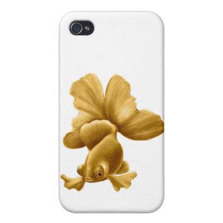 Customizable Black Moor Goldfish iPhone Case