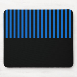 Customizable Black Stripes Gift Template Mouse Pad