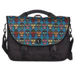 Customizable Black Sugar Skulls Commuter Bags