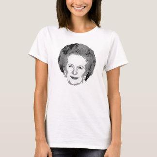 Customizable Black & White Margaret Thatcher Shirt