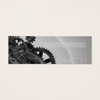 Customizable Blank Bicycle Gears Business Cards