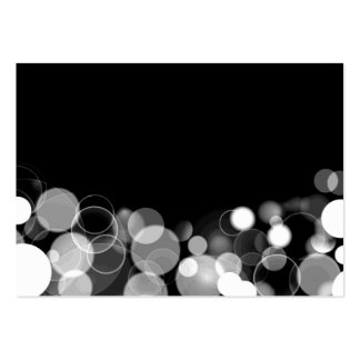 Customizable Blank Bubble Lights Business Cards