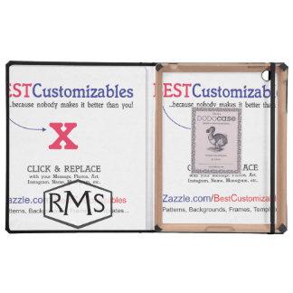 Customizable Blank Gift Template iPad Folio Case