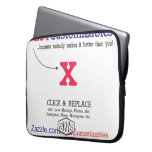 Customizable Blank Gift Template Laptop Computer Sleeves