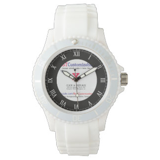 Customizable Blank Gift Template Wrist Watches