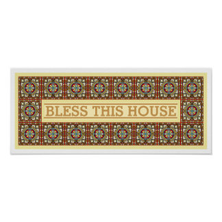 Customizable Bless This House Home Decor