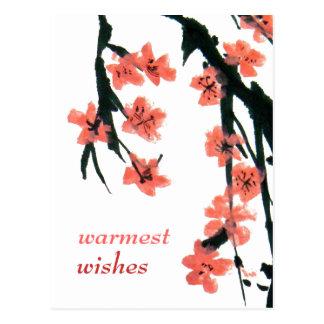 Customizable: Blossom Postcard