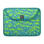 Customizable Blue Daisies MacBook Pro Sleeves