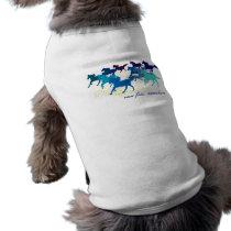 Customizable: Blue horses Shirt
