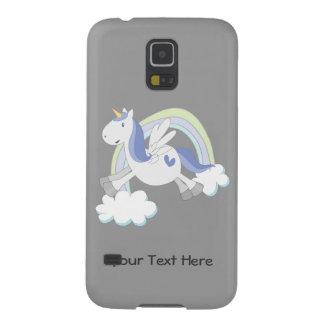 Customizable Blue Pegasus Galaxy S5 Cover