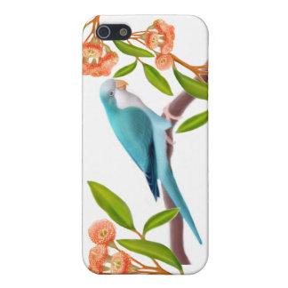 Customizable Blue Quaker Parrot iPhone Case