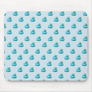 Customizable Blue Rubber Ducks by storeman Mouse Pad