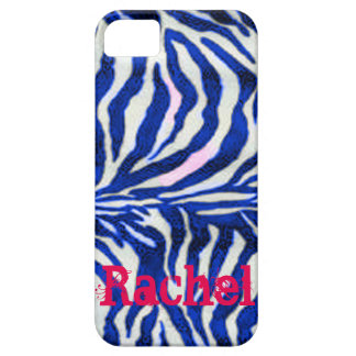 Customizable Blue Zebra Fur Phone Case