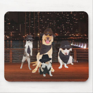 Customizable Blues Pets Mouse Pad