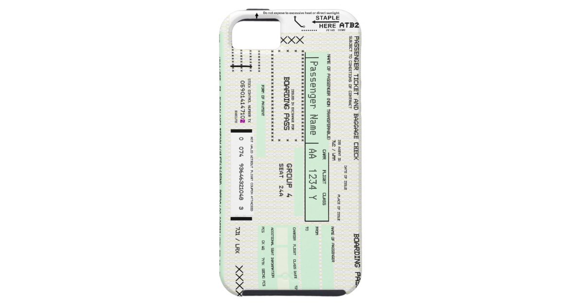 Boarding Pass Template Gifts on Zazzle – Boarding Pass Template
