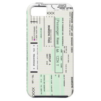 Tkank you Thursday - Customizable Boarding Pass Iphone 5 Case