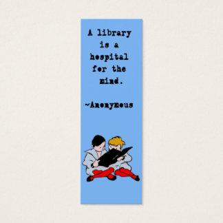 Customizable Bookmarks Mini Business Card
