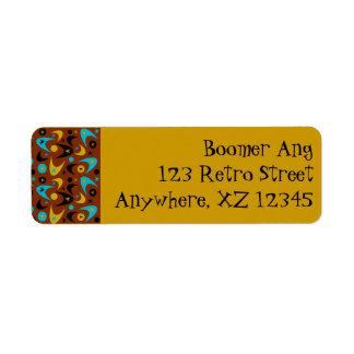 Customizable Boomerang Label