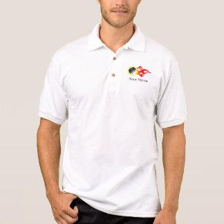 Customizable Bowling Jersey Polo Shirt