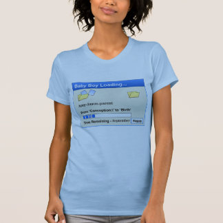 Customizable - Boy Loading T-Shirt
