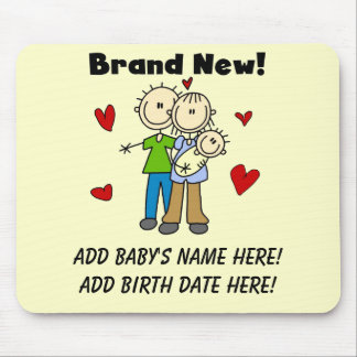 Customizable Brand New Baby Mousepad