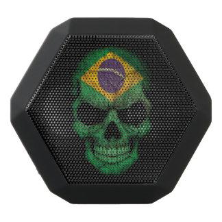 Customizable Brazilian Flag Skull Black Boombot Rex Bluetooth Speaker