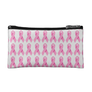 Customizable Breast Cancer Make up Bag