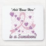 Customizable Breast Cancer Survivor Mousepad