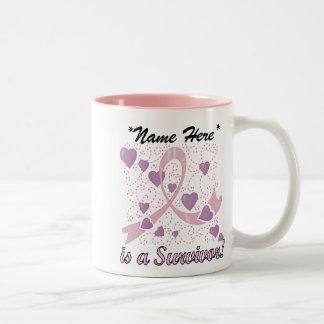 Customizable Breast Cancer Survivor Mug