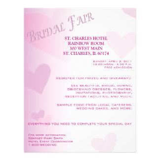Customizable Bridal Fair Flyer