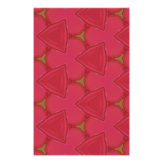 Customizable Bright Rose Abstract Stationery