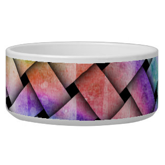 Customizable BRIGHT WEAVE PET DISH - SNACK BOWL