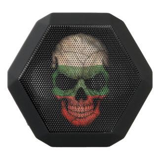 Customizable Bulgarian Flag Skull Black Boombot Rex Bluetooth Speaker