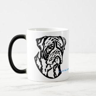 Customizable bulldog mug