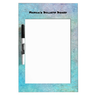 Customizable Bulletin Board Dry-Erase Board