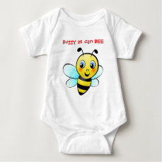 Customizable Bumblebee Baby Bodysuit