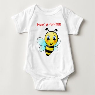 Customizable Bumblebee Baby Bodysuit