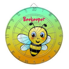 Customizable Bumblebee Dartboards