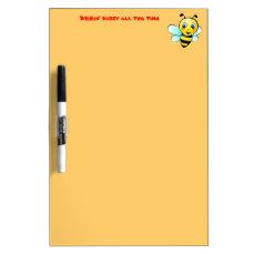 Customizable Bumblebee Dry Erase Board