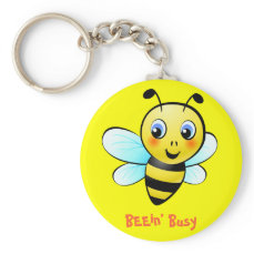 Customizable Bumblebee Keychain