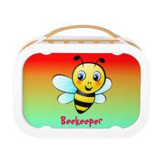 Customizable Bumblebee Lunch Box