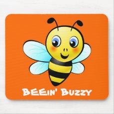 Customizable Bumblebee Mouse Pad